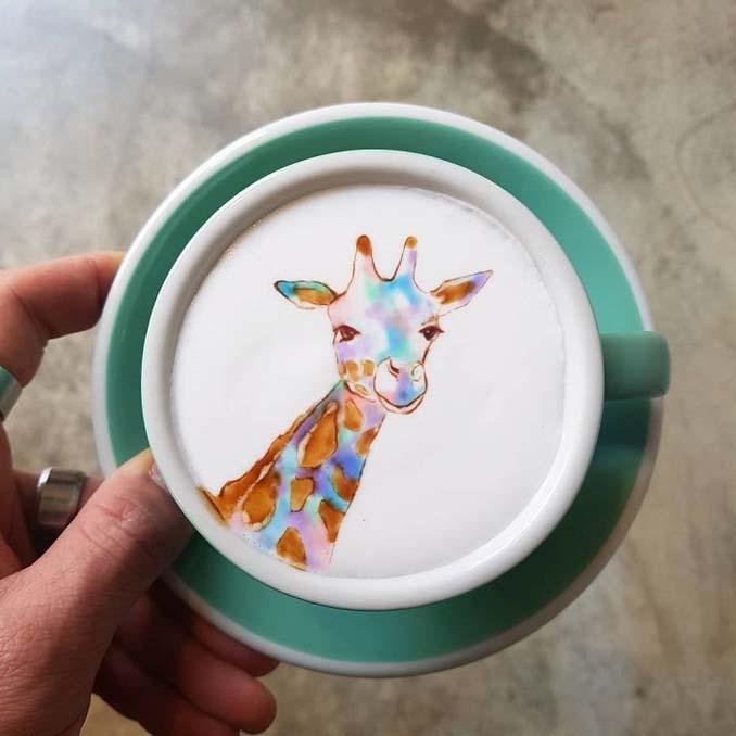 Κορεάτης barista μετατρέπει κούπες καφέ σε απίστευτα έργα τέχνης (20)