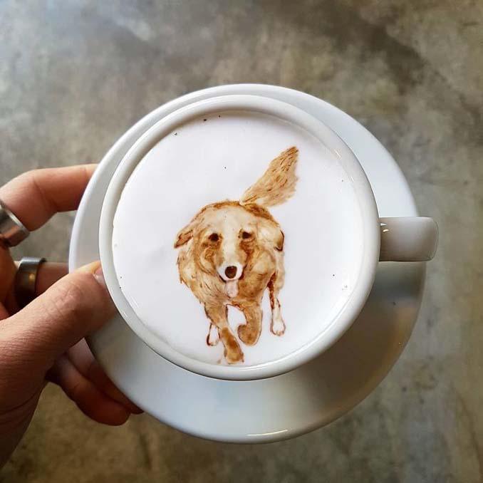 Κορεάτης barista μετατρέπει κούπες καφέ σε απίστευτα έργα τέχνης (24)