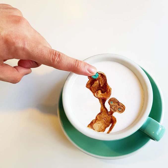 Κορεάτης barista μετατρέπει κούπες καφέ σε απίστευτα έργα τέχνης (25)
