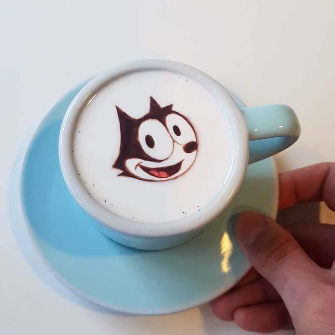 Κορεάτης barista μετατρέπει κούπες καφέ σε απίστευτα έργα τέχνης (26)