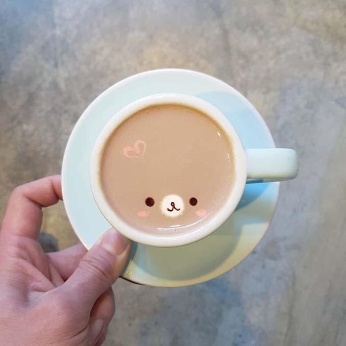 Κορεάτης barista μετατρέπει κούπες καφέ σε απίστευτα έργα τέχνης (28)