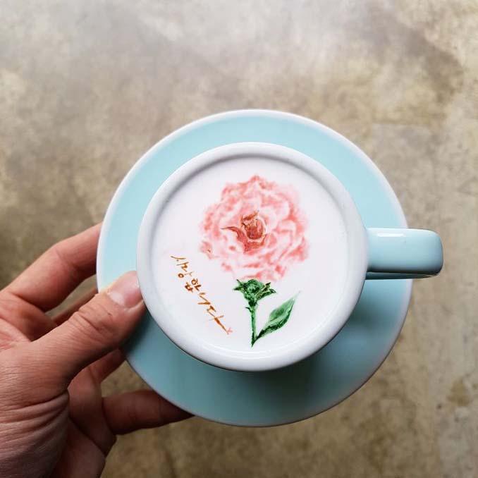 Κορεάτης barista μετατρέπει κούπες καφέ σε απίστευτα έργα τέχνης (30)