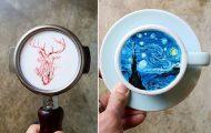 Κορεάτης barista μετατρέπει κούπες καφέ σε απίστευτα έργα τέχνης (31)