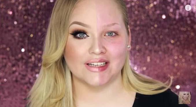 Make up artist ξεκίνησε μια πρόκληση που δείχνει την ομορφιά των γυναικών πριν και μετά το μακιγιάζ (3)