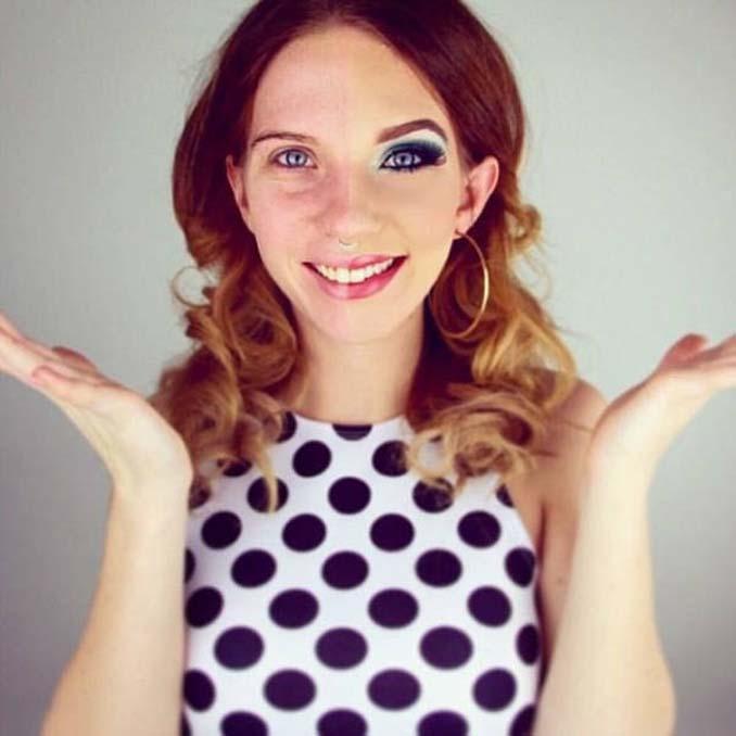 Make up artist ξεκίνησε μια πρόκληση που δείχνει την ομορφιά των γυναικών πριν και μετά το μακιγιάζ (5)