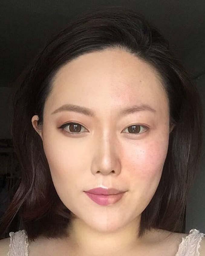 Make up artist ξεκίνησε μια πρόκληση που δείχνει την ομορφιά των γυναικών πριν και μετά το μακιγιάζ (9)