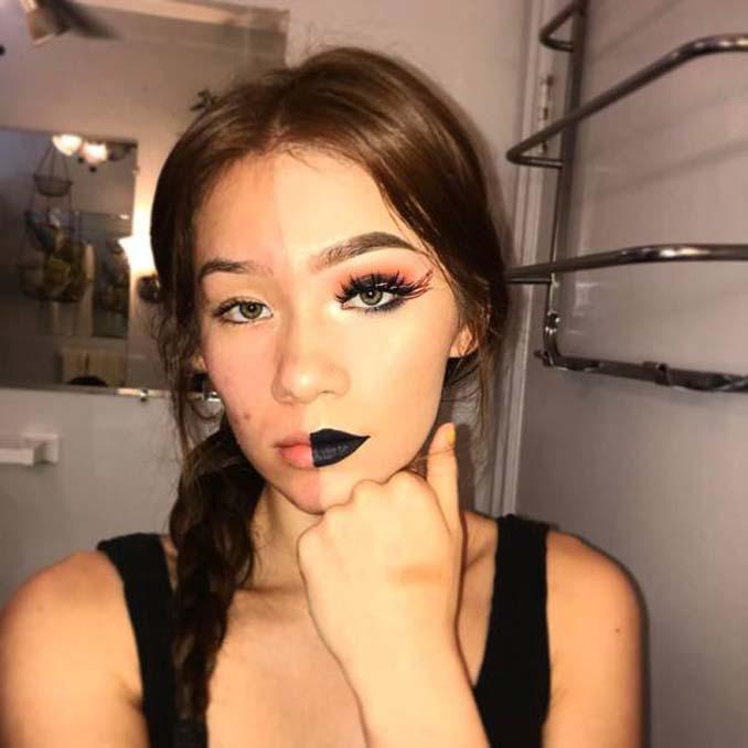 Make up artist ξεκίνησε μια πρόκληση που δείχνει την ομορφιά των γυναικών πριν και μετά το μακιγιάζ (12)