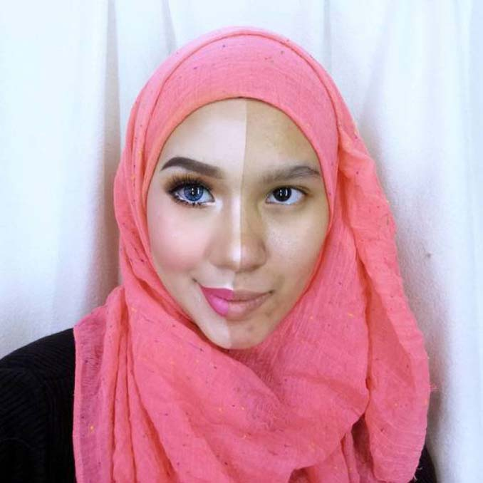 Make up artist ξεκίνησε μια πρόκληση που δείχνει την ομορφιά των γυναικών πριν και μετά το μακιγιάζ (19)