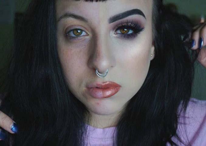 Make up artist ξεκίνησε μια πρόκληση που δείχνει την ομορφιά των γυναικών πριν και μετά το μακιγιάζ (20)