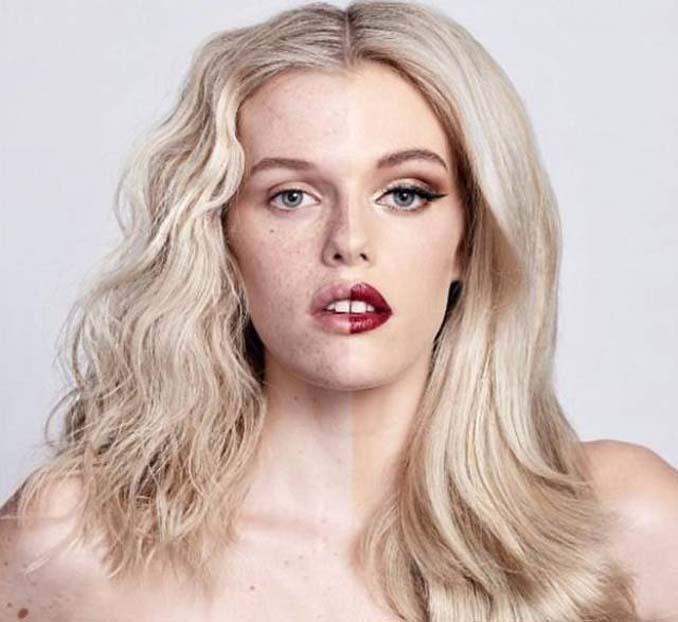 Make up artist ξεκίνησε μια πρόκληση που δείχνει την ομορφιά των γυναικών πριν και μετά το μακιγιάζ (21)