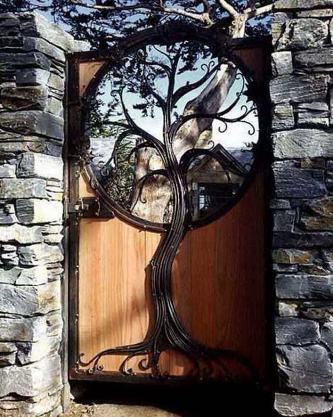 15 μεταλλικές πόρτες - έργα τέχνης για εκπληκτική πρώτη εντύπωση (2)