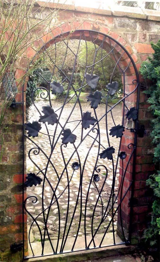 15 μεταλλικές πόρτες - έργα τέχνης για εκπληκτική πρώτη εντύπωση (4)