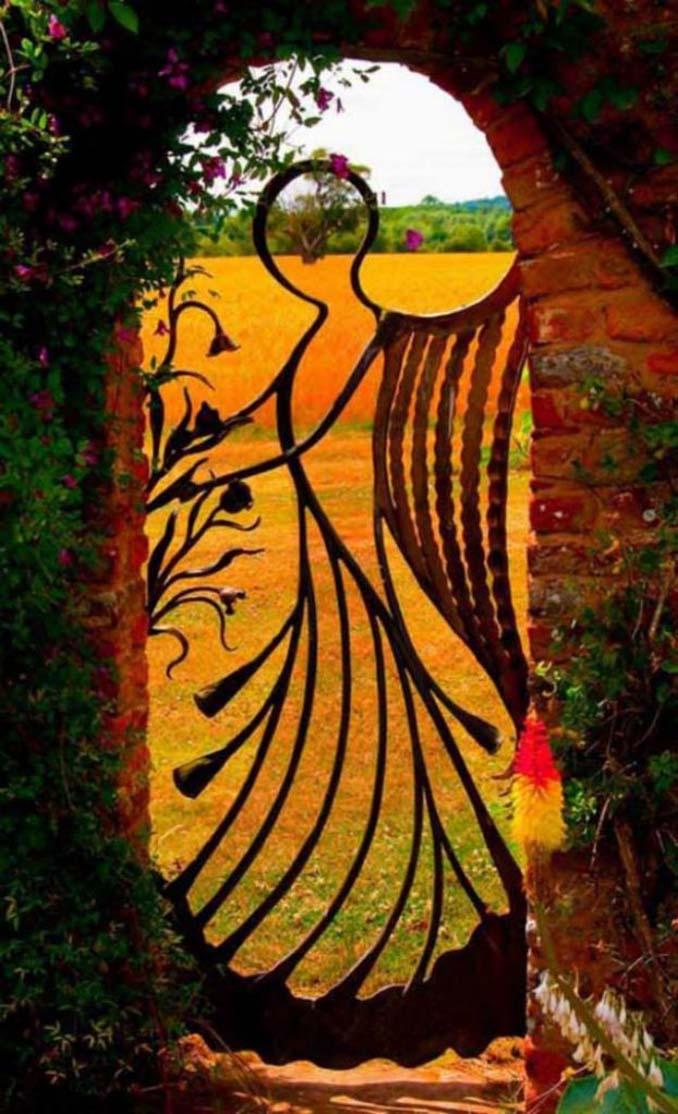 15 μεταλλικές πόρτες - έργα τέχνης για εκπληκτική πρώτη εντύπωση (5)