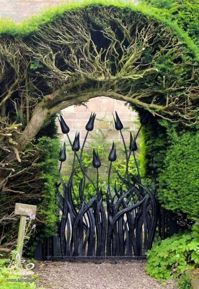 15 μεταλλικές πόρτες - έργα τέχνης για εκπληκτική πρώτη εντύπωση (13)
