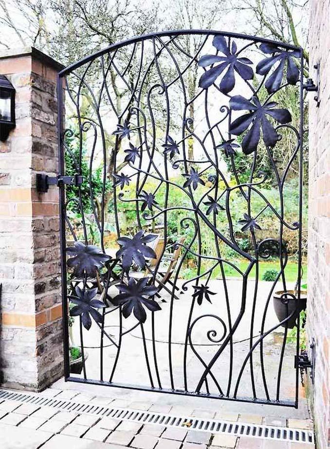 15 μεταλλικές πόρτες - έργα τέχνης για εκπληκτική πρώτη εντύπωση (14)