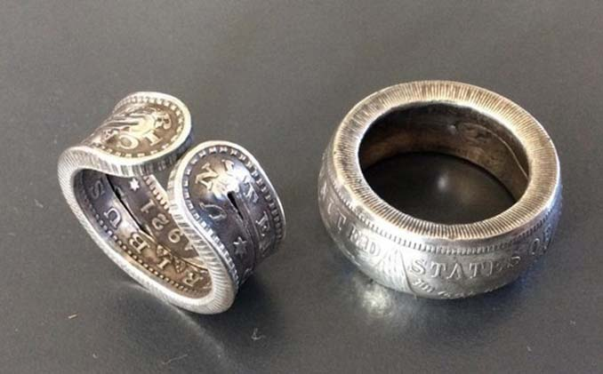 Εντυπωσιακές μετατροπές παλιών κερμάτων σε κοσμήματα και έργα τέχνης (8)