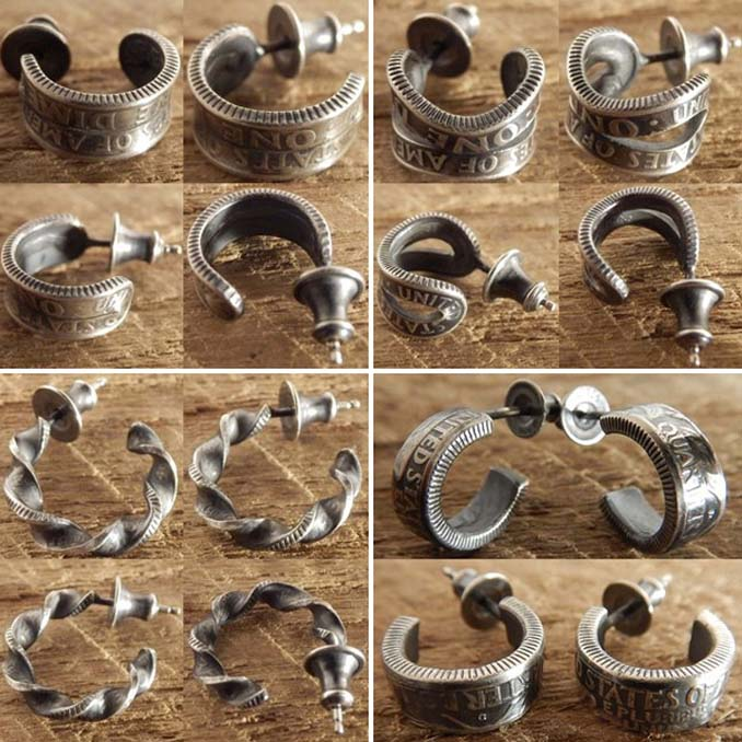 Εντυπωσιακές μετατροπές παλιών κερμάτων σε κοσμήματα και έργα τέχνης (9)