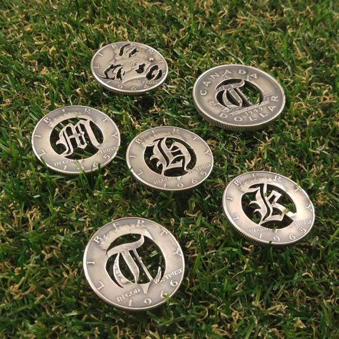 Εντυπωσιακές μετατροπές παλιών κερμάτων σε κοσμήματα και έργα τέχνης (16)