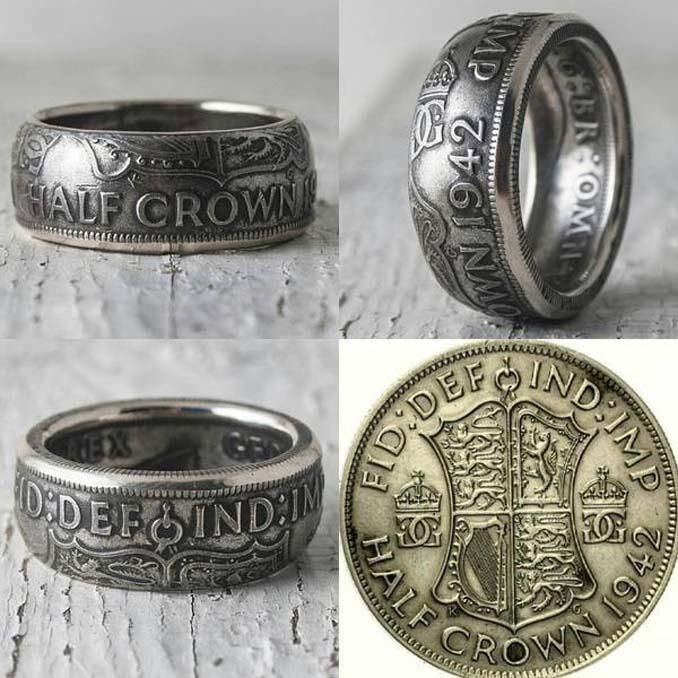Εντυπωσιακές μετατροπές παλιών κερμάτων σε κοσμήματα και έργα τέχνης (20)