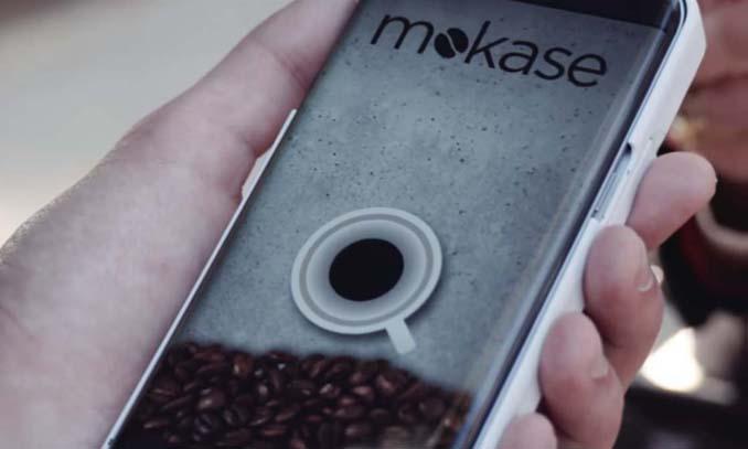 Mokase: Θήκη για κινητό τηλέφωνο που φτιάχνει καφέ (1)