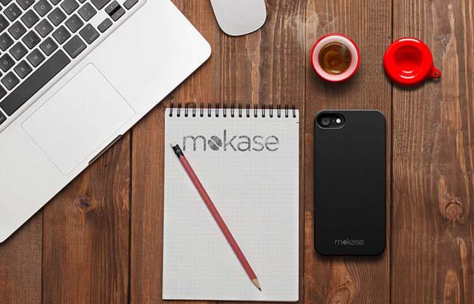 Mokase: Θήκη για κινητό τηλέφωνο που φτιάχνει καφέ (7)