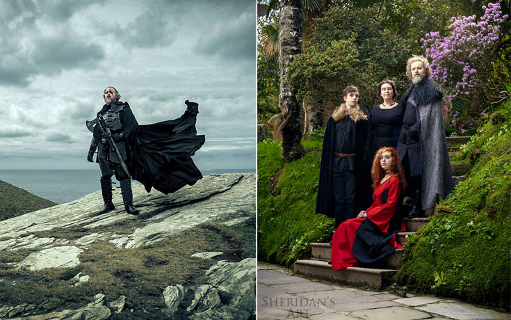 Μπαμπάς αποφάσισε να αντιμετωπίσει την κρίση μέσης ηλικίας με μια φωτογράφιση τύπου Game of Thrones (1)