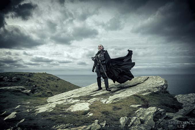Μπαμπάς αποφάσισε να αντιμετωπίσει την κρίση μέσης ηλικίας με μια φωτογράφιση τύπου Game of Thrones (10)