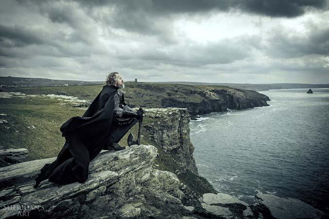 Μπαμπάς αποφάσισε να αντιμετωπίσει την κρίση μέσης ηλικίας με μια φωτογράφιση τύπου Game of Thrones (11)