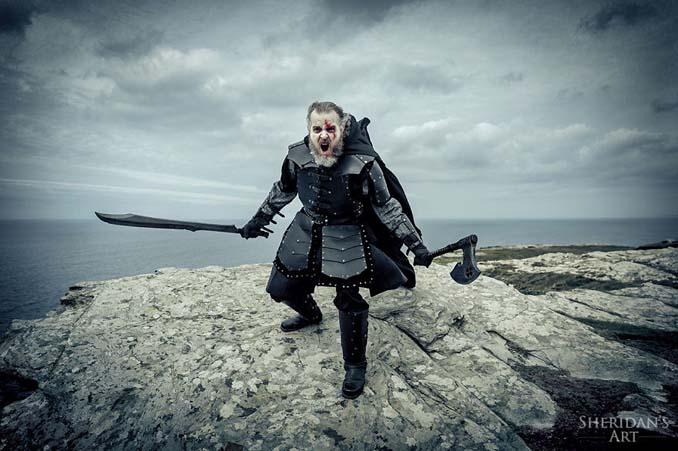 Μπαμπάς αποφάσισε να αντιμετωπίσει την κρίση μέσης ηλικίας με μια φωτογράφιση τύπου Game of Thrones (15)