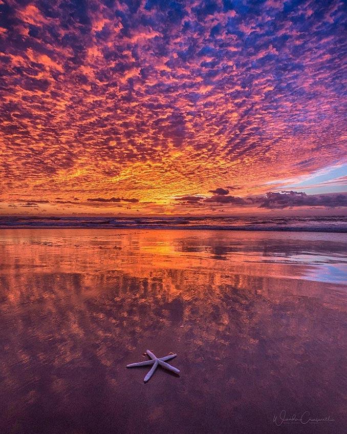Όταν ο ουρανός φλέγεται | Φωτογραφία της ημέρας