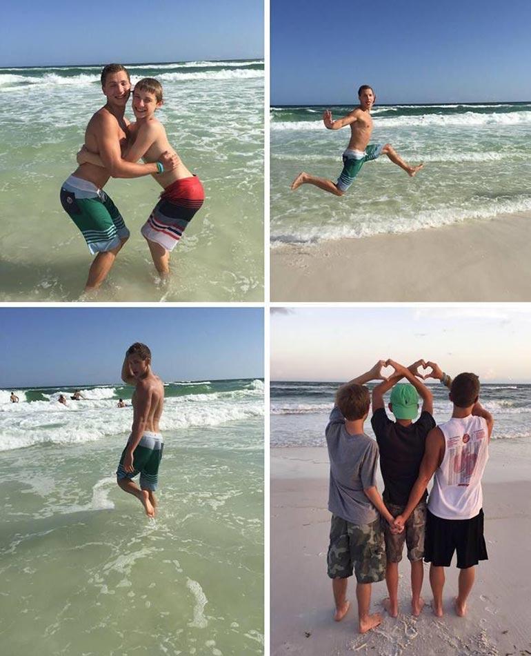 Πως ποζάρουν τα κορίτσια στην παραλία | Φωτογραφία της ημέρας