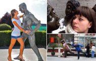 Ποζάροντας με αγάλματα #25