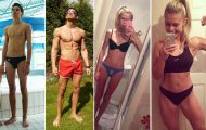 Πριν και Μετά τη γυμναστική: 24 εντυπωσιακές μεταμορφώσεις