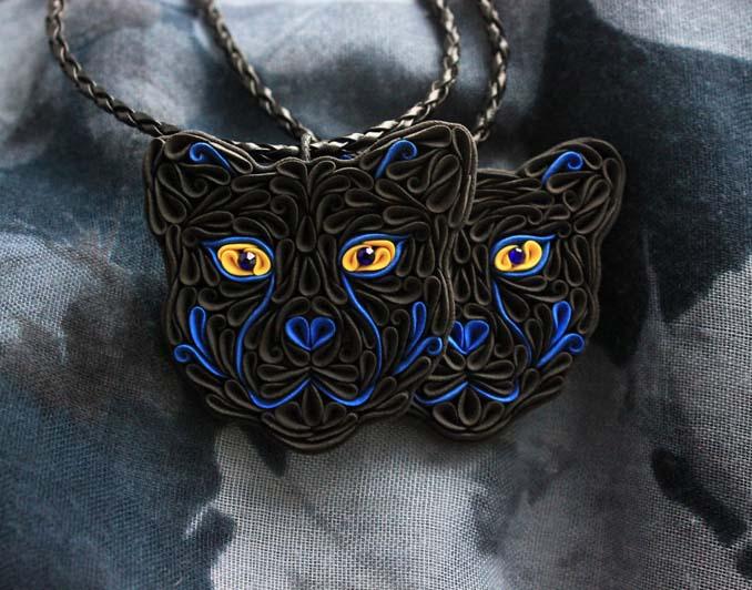 Καλλιτέχνιδα δημιουργεί πρωτότυπα κοσμήματα με πολυμερή πηλό (12)