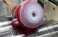 Ρόλο σιλικόνης με ανάμιξη δύο χρωμάτων