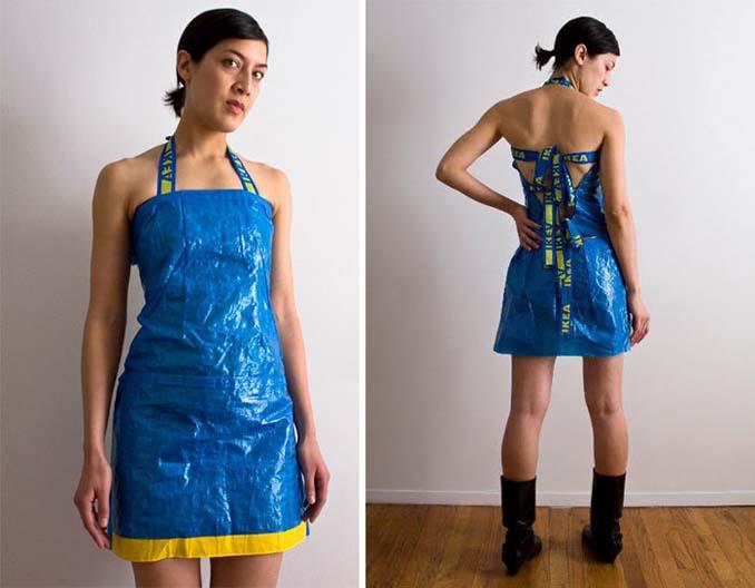 Ρούχα και αξεσουάρ από τσάντες ΙΚΕΑ (14)