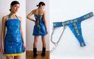 23 ρούχα και αξεσουάρ που φτιάχτηκαν από τσάντες ΙΚΕΑ