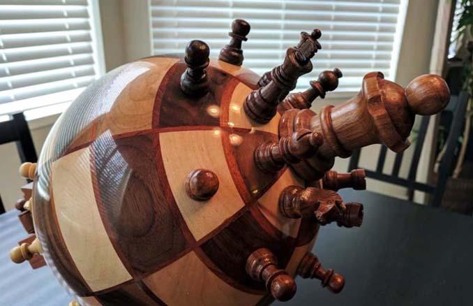 Σκακιέρα σε σχήμα υδρογείου σφαίρας (3)