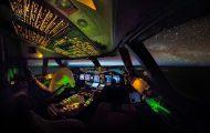 Τι βλέπει ένας πιλότος σε μια νυχτερινή πτήση από τη Ζυρίχη στο Σάο Πάολο