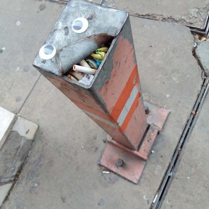Κάποιος στη Βουλγαρία τοποθετεί ματάκια σε σπασμένα αντικείμενα και το αποτέλεσμα είναι άκρως διασκεδαστικό! (8)