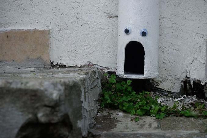 Κάποιος στη Βουλγαρία τοποθετεί ματάκια σε σπασμένα αντικείμενα και το αποτέλεσμα είναι άκρως διασκεδαστικό! (19)