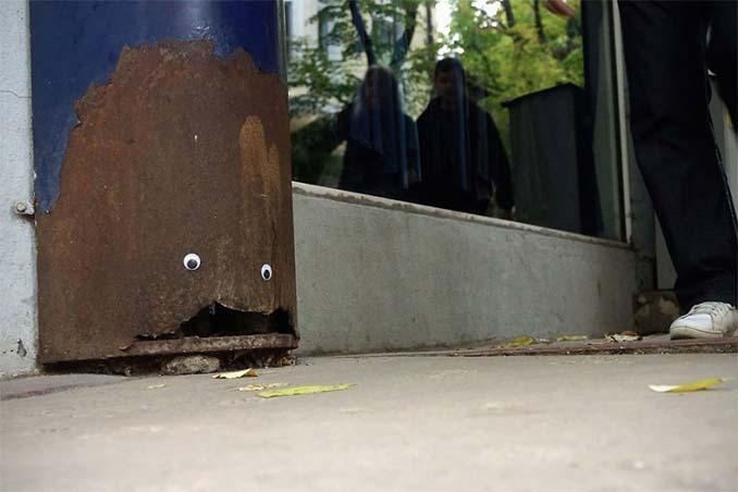 Κάποιος στη Βουλγαρία τοποθετεί ματάκια σε σπασμένα αντικείμενα και το αποτέλεσμα είναι άκρως διασκεδαστικό! (20)