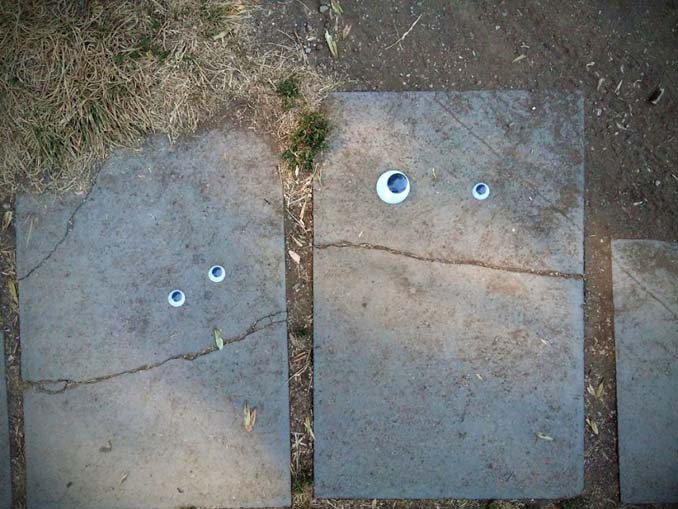 Κάποιος στη Βουλγαρία τοποθετεί ματάκια σε σπασμένα αντικείμενα και το αποτέλεσμα είναι άκρως διασκεδαστικό! (22)