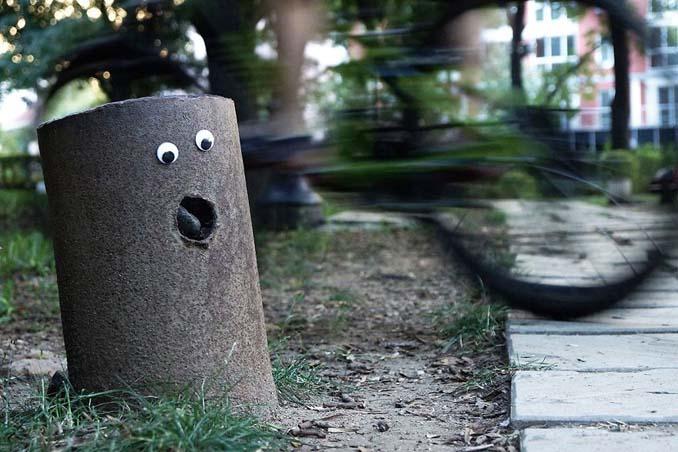 Κάποιος στη Βουλγαρία τοποθετεί ματάκια σε σπασμένα αντικείμενα και το αποτέλεσμα είναι άκρως διασκεδαστικό! (24)