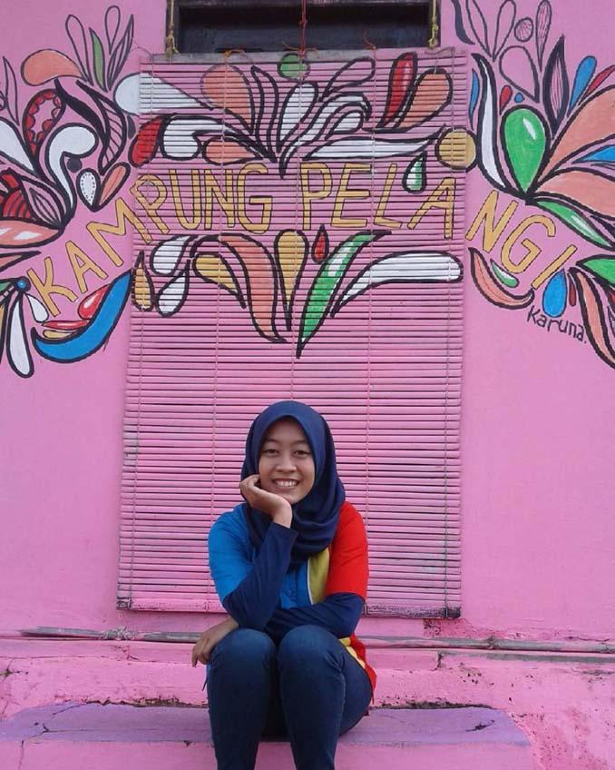 Χωριό ουράνιο τόξο στην Ινδονησία (2)