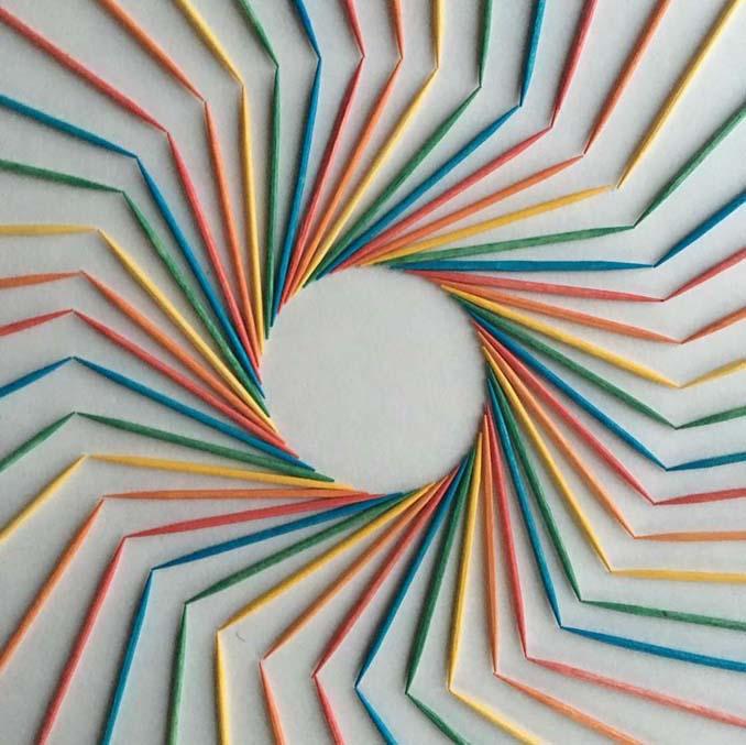 Ο Adam Hillman τακτοποιεί αντικείμενα και γλυκά με βάση το χρώμα (2)