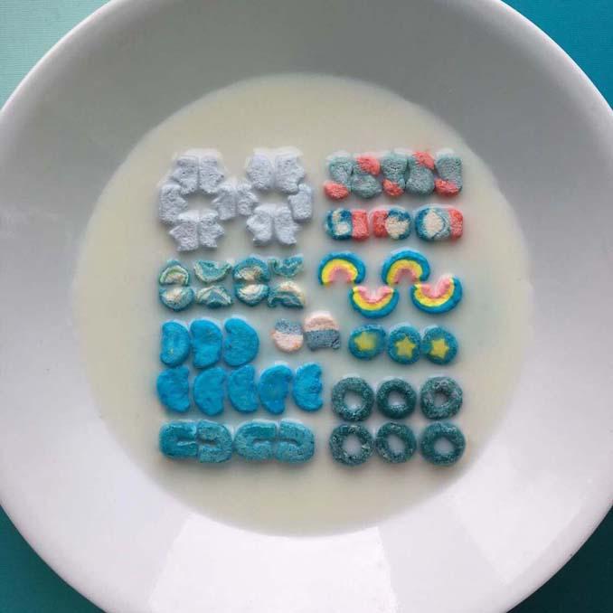 Ο Adam Hillman τακτοποιεί αντικείμενα και γλυκά με βάση το χρώμα (20)