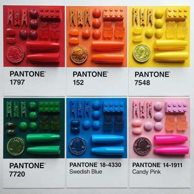 Ο Adam Hillman τακτοποιεί αντικείμενα και γλυκά με βάση το χρώμα (24)