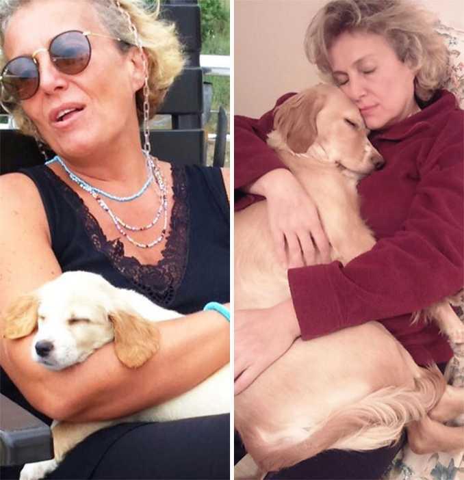 Αξιολάτρευτες φωτογραφίες σκύλων πριν και μετά την ανάπτυξή τους (4)