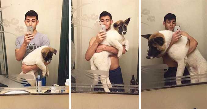 Αξιολάτρευτες φωτογραφίες σκύλων πριν και μετά την ανάπτυξή τους (6)